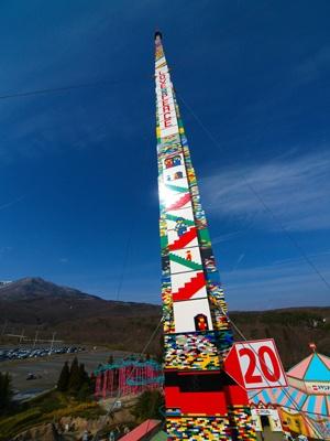 夢が溢れるタワーに! Photo:阿部吉泰(blowup)