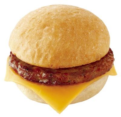 「ソーセージ&チーズ」(単品280円、セット450円)