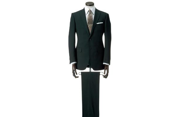 「プレミアムウォッシュスーツ」は2万5725円〜6万1950円。少々お高めでも、風合いとクリーニング代を考えれば安い!?