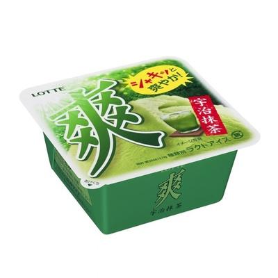 【写真を見る】石臼挽きの本格的な宇治抹茶の味が楽しめる「爽 宇治抹茶」。全国で発売中