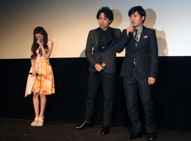「まさか柴咲さんが(泣き芸)やるとは!!」と劇団ひとりがこぼすと、大泉も「(柴咲が)監督を追い込んだなっと思いましたよ!」と驚く