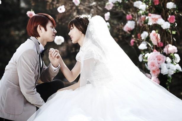 SUPER JUNIOR・ヒチョルは、台湾のアイドルグループ「Dream Girls」のパフ・クオと仮想結婚