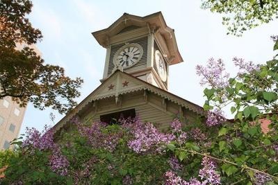 札幌といえばさっぽろ時計台。長期滞在して、いろんなところを巡ろう
