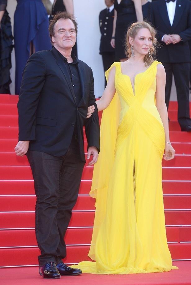 タランティーノは女優ミラ・ソルヴィーノと破局後、『キル・ビル』のころはソフィア・コッポラ監督と交際していた
