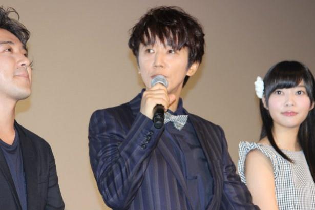 幸子の母親が再婚する幹男を演じたユースケ・サンタマリア