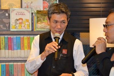 仲代達矢の出演作で一番好きな映画は「いのち ぼうにふろう」だと語る、代官山 蔦屋書店のシネマ・コンシェルジュ、吉川明利さん