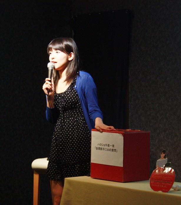 【写真を見る】Juice=Juiceのメンバー・宮本佳林のイジり方を明かす金澤朋子