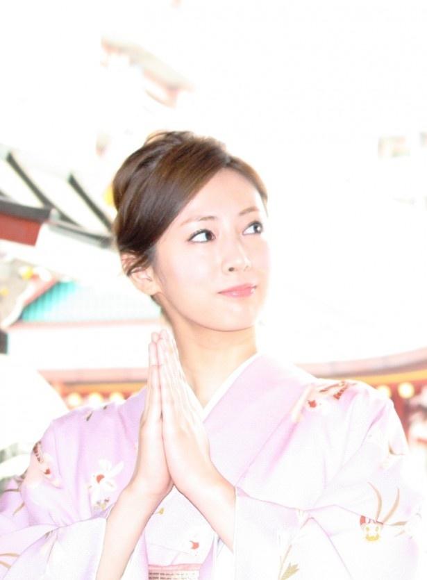 謎の浪人・小松原役の松岡昌宏の着物姿を「ステキです!」と絶賛!