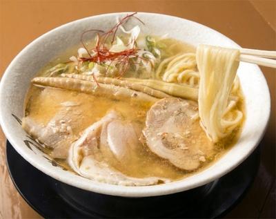 3/18オープンの「麺屋 裕(ひろ)」の蟹塩そば¥730