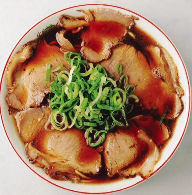 根強い人気の「新福菜館 本店」の中華そば(並)¥650
