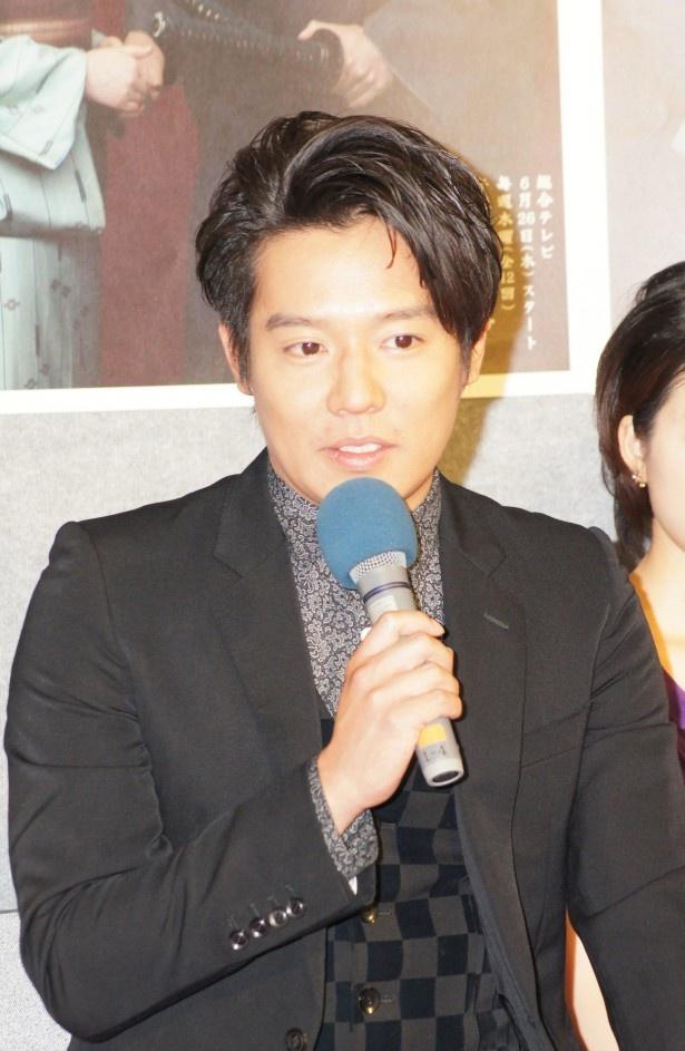 【写真を見る】小出恵介は、時代劇で主演を務めるのは初めてとなる