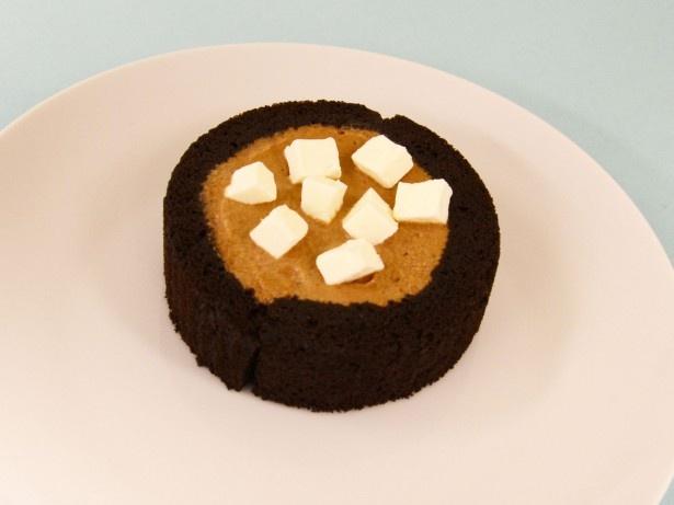 クリームチーズのトッピングは濃厚なチョコクリームにはちょっと敵わなかった!?