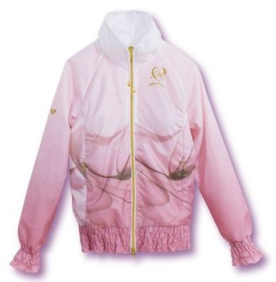 鮮やかな色合いのグラデーションジャケット