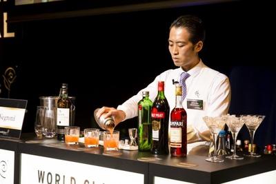 今大会総合第3位だった槇永 優さんは大阪府のバー、Bar Leigh Islayのバーテンダー