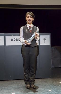 見事、2つの競技で部門優勝を果たし、総合優勝を獲得した倉上香里さん