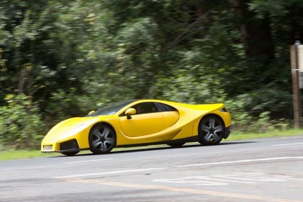 GTAスパーノはスペイン初のスーパーカーと言われ、こちらの生産台数は限定99台