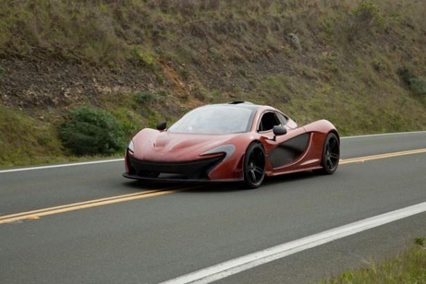 生産台数が世界限定375台という超レアモデル、マクラーレンP1