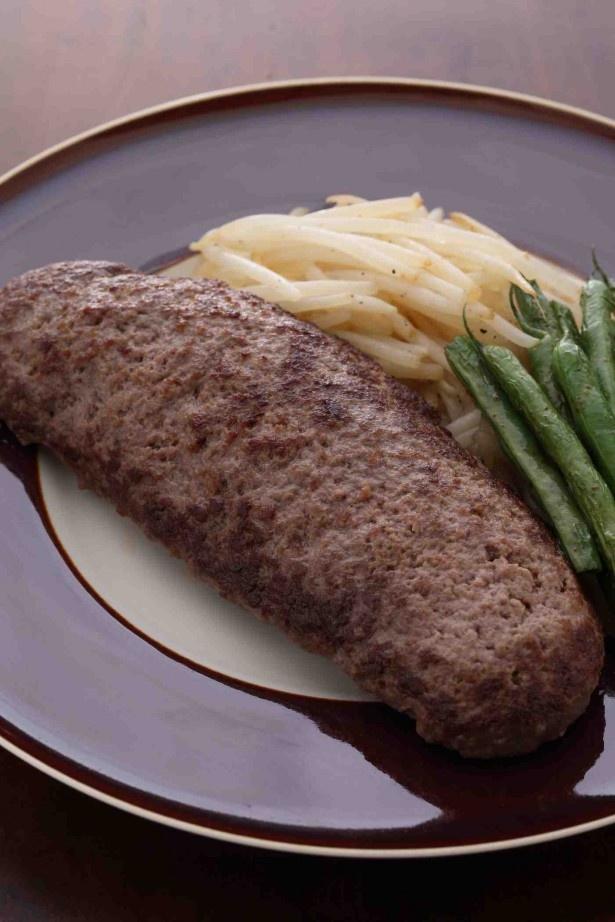 広げて焼き、ジューシーなステーキのように。