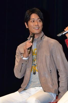 永井大さんは「このバイクで彼女とツーリングしたいですね」とコメント