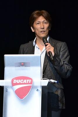 ドゥカティジャパンの加藤稔社長