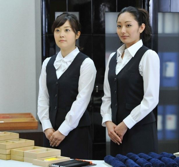 予備校の女性職員役には、安藤美姫(右)や水卜麻美アナなど驚きのキャスティング