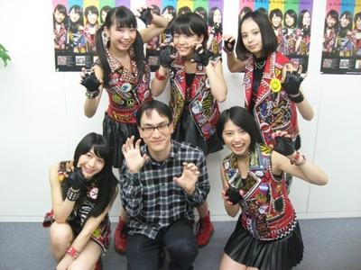 2014年5/14、ポニーキャニオン大阪営業所にて