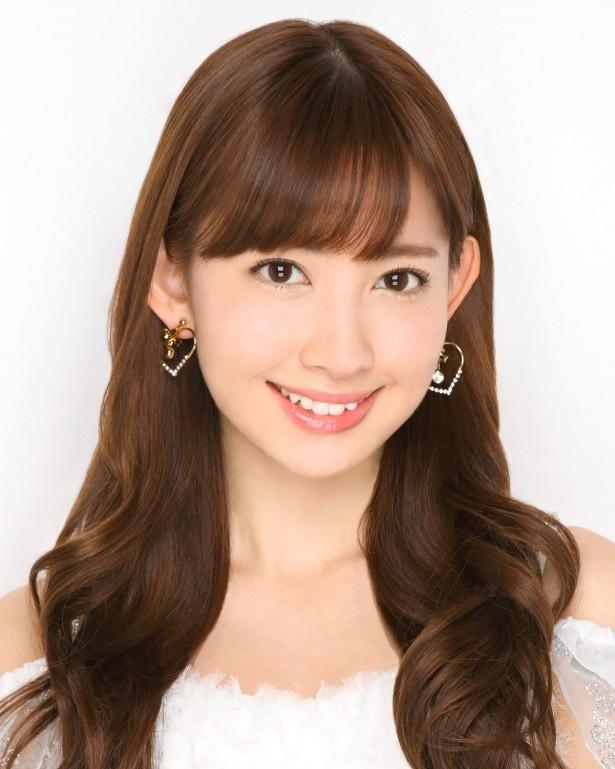 AKB48・小嶋陽菜は第8位