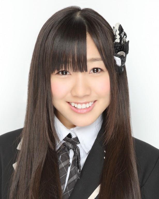 初のトップ10入りを果たした第10位のSKE48・須田亜香里