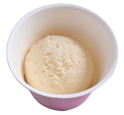 生キャラメルを練りこんだアイスクリーム(480円)