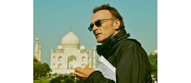 ムンバイの生命力溢れる感覚に圧倒されたというダニー・ボイル監督