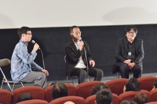 「銀河鉄道の夜」の細野晴臣、「おおかみこども―」の高木正勝さんという音楽に関する質問も飛び出した