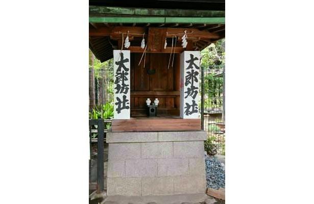 太郎坊社は、道開きの神様として信仰がある