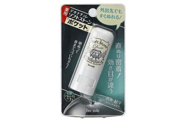 ベストセラー商品の携帯用。デオナチュレ ソフトストーンWポケット 650円
