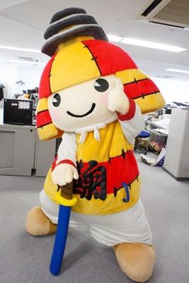 くりっとした目がとっても可愛い!熊本県にある鞠智城のイメージキャラクター、ころう君がKADOKAWAへ!