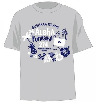 7月18日(金)からの第1弾で発売されるTシャツ(グレー・税抜2000円)