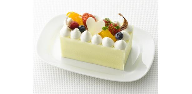 「菓乃実の杜」の「ショコラオランジュ」(1260円)は、オレンジムースが特徴