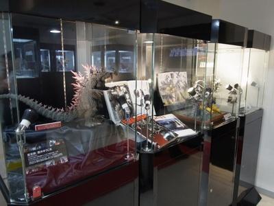 『GODZILLA ゴジラ』公開に合わせ、秋葉原ショールームでのゴジラ特集展示も実施中