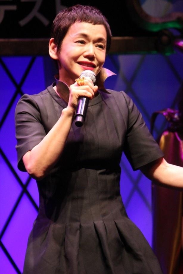 大竹しのぶが『マレフィセント』の主題歌を生ライブで初披露