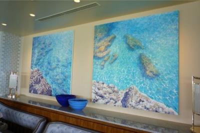 南イタリアがモチーフになっている壁画