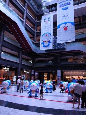 グランフロント大阪のナレッジプラザがドラえもん一色に!