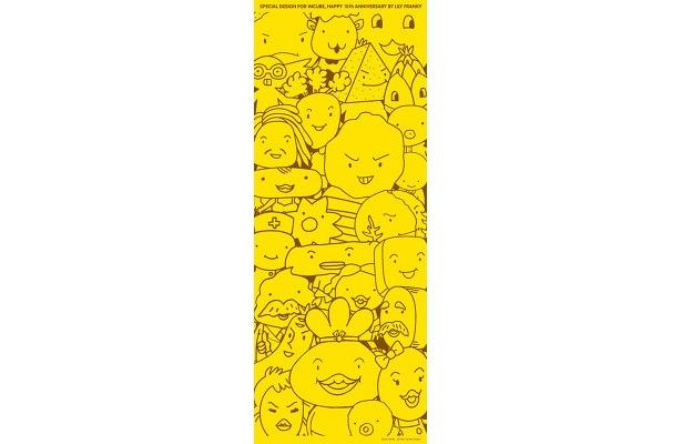 キャラクターが大集合の手ぬぐい(¥1260)