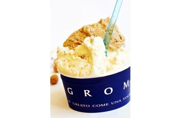 イタリアの高級ジェラート店「グロム」(490円〜)が日本上陸