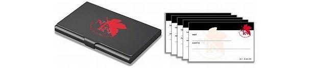 D賞「名刺&カードケース」。黒地にネルフのマークがかっこいい