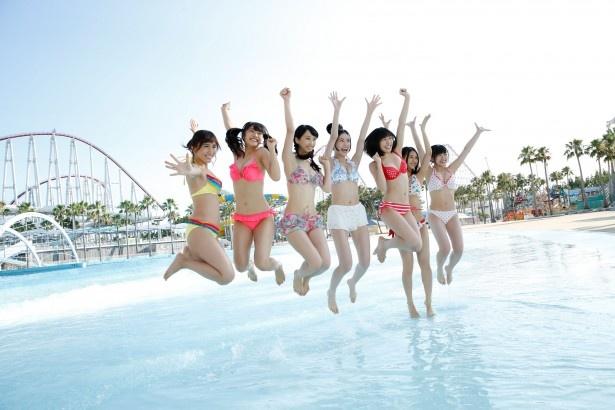 SKE48にとって水着でのCM撮影は初!