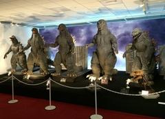 ゴジラがテープカット!各時代のゴジラを展示!8/29(金)~9/15(祝)あべのハルカスで「大ゴジラ特撮展~ゴジラ60年の軌跡~」開催