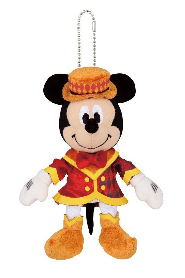 【写真を見る】キュートなミッキーマウスのぬいぐるみマスコット(D賞)
