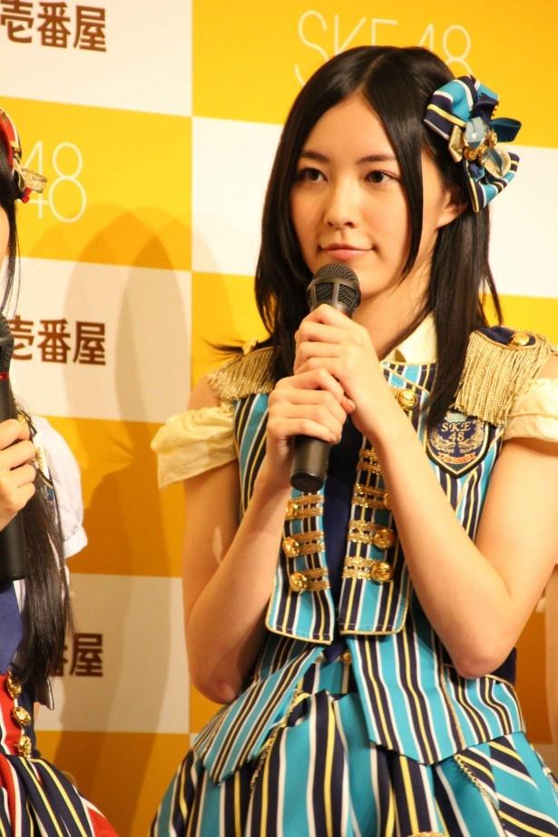 松井は前回のキャンペーンを振り返り、「本当に悔しかった」とリベンジ宣言