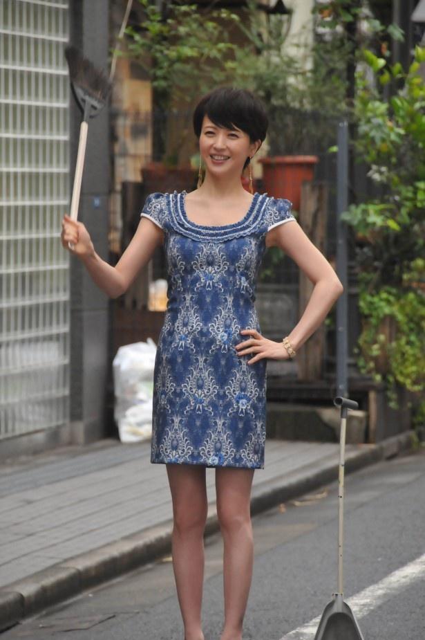 三浦は探偵の元大家・真由美役で再び「匿名探偵」の世界に帰ってくる!