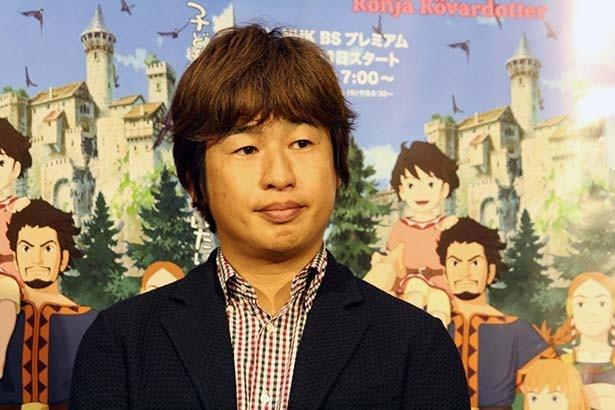 制作に携わったかを質問された川上量生プロデューサーは、「何もしていない」という宮崎監督のツッコミを受け「その通りです」と堂々と回答する