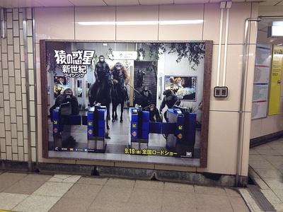 【写真を見る】弊社最寄り駅の飯田橋駅にも猿たちが!